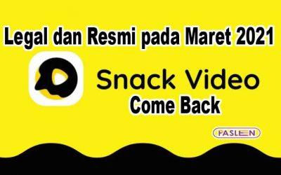 Aplikasi Penghasil Uang Snack Video Bangkit dan Legal Maret 2021