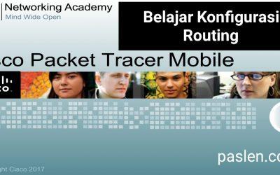 Belajar Konfigurasi Routing di Cisco Packet Tracer