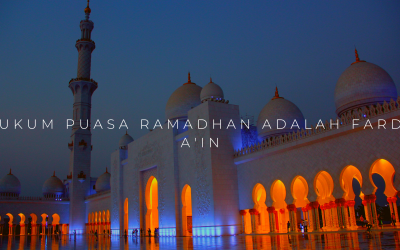 Hukum Puasa Ramadhan Adalah Fardu a'in