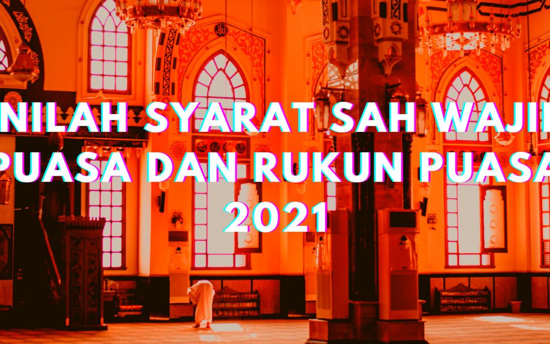 Inilah Syarat Sah Wajib Puasa dan Rukun Puasa 2021
