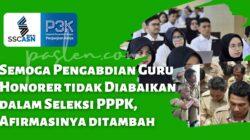 Semoga Pengabdian Guru Honorer tidak Diabaikan dalam Seleksi PPPK, Afirmasinya ditambah