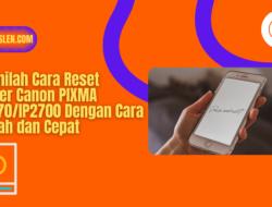 Beginilah Cara Reset Printer Canon PIXMA IP2770/IP2700 Dengan Cara Mudah dan Cepat
