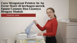 Cara Mengatasi Printer In An Error State di berbagai merek Epson Cannon Dan Liannya Dengan Mudah