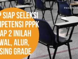 Siap Siap Seleksi Kompetensi PPPK Tahap 2 Inilah  Jadwal, Alur, Passing Grade